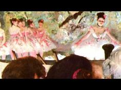 Edgar Degas.  Outstanding 5 min. slide show of Ballerinas with Johann Strauss track.