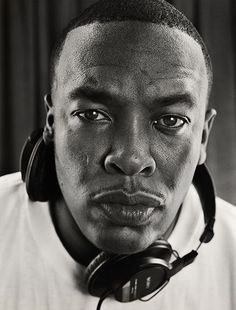 Not sure why but back in the day we all  crushed on Snoop but Dr. Dre does something for me! He sneaks up on you. He has his grown man on now ..and I like it! He is handsome, not a pretty and he definitely make you wonder . He got that edginess. Don't sleep on Dr. Dre. NWA ORIGINAL