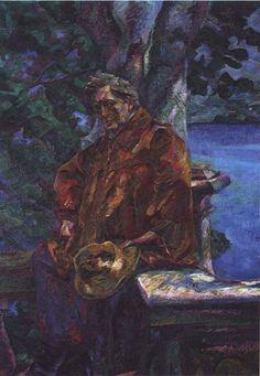 Umberto Boccioni (Italian, Portrait of Maestro Busoni, 1916 Oil on canvas Umberto Boccioni, Reggio Calabria, Italian Painters, Italian Art, Contemporary Paintings, Busoni, Oil On Canvas, Artist, Portrait Paintings