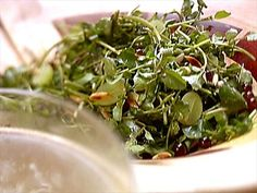 Watch videos from Cooking Channel shows and chefs. Learn to prepare feature recipes and relive your favorite moments Watercress Recipes, Watercress Salad, Cooking Channel Shows, Seaweed Salad, Spice Things Up, Spinach, Spices, Meals, Vegetables