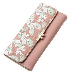 Geometric Round White Background Women Wallet RFID Zip Long Wallets Phone Travel Card Holder Purse Clutch Multi Card Case