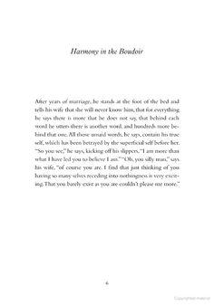 """harmony in the boudoir,"" mark strand"
