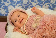 Crochet vintage inspired lace ruffle romper