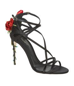 View the Isabella Embellished Satin Sandal