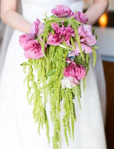 Pink & Chartreuse Bouquet