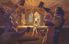 tangled concept art tower - Google Search
