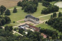 Photo aérienne de Château de Beauregard - Loir-et-Cher (41)