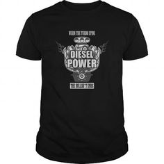 When The Turbo Spins Diesel Power Great Funny Gift For Any Diesel Mechanic Fan Lover #sunfrogshirt