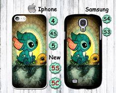Stitch, Lilo, Ohana, personalized Iphone4 case, Iphone4s case, Iphone5 case, Iphone5S case,Iphone 5C case, galaxy S3/S4 case,Sea turtle on Etsy, $3.99