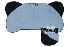 Bone Shape Pet Towel, Blue on OneKingsLane.com