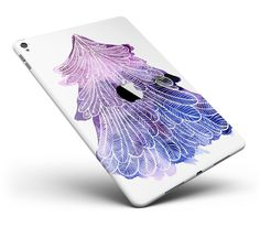 """Stenciled Watercolor Evergreen Tree Full Body Skin for the iPad Pro (12.9"""" or 9.7"""" available) from DesignSkinz"""