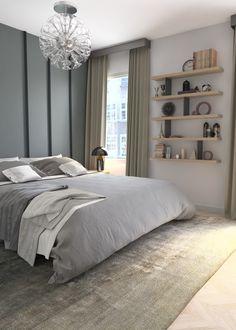 Design de interior - UBE studio - Amenajare dormitor Design Projects, Interior Design, Bed, Furniture, Home Decor, Interiors, Design Interiors, Home Furnishings, Home Interior Design
