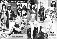 Betty Page :-)  (alla faccia delle ragazze di oggi, troppo magre ;-)