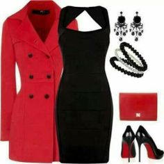 Night on the town/ business outfit Look Fashion, Fashion Outfits, Womens Fashion, Latest Fashion, Chic Dress, Dress Up, Dress Shoes, Dress Clothes, Casual Clothes