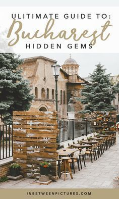 Your complete guide to Bucharest hidden gems! My list of all the best restaurants, coffee shops, and bars in Bucharest Romania - all locals approved. Travel Around Europe, Travel Around The World, Around The Worlds, Travelling Europe, Traveling, Romania Travel, Road Trip Europe, Virtual Field Trips, Bucharest Romania