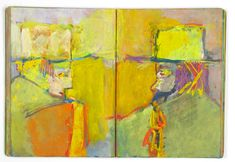 Saul Leiter's sketchbook