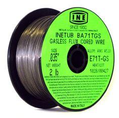 INETUB BA71TGS .035-Inch on 2-Pound Spool Carbon Steel Gasless Flux Cored Welding Wire INE USA Since 1950,http://www.amazon.com/dp/B003JDDCXW/ref=cm_sw_r_pi_dp_U-xEtb08R31TY22X