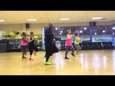 Pitbull Fun ft Chris Brown (Zumba with Dez) - similar to Rachel's routine at 24 Hour Fitness...