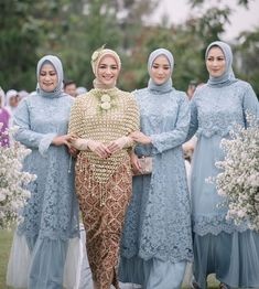 Kebaya Modern Hijab, Kebaya Hijab, Kebaya Dress, Kebaya Muslim, Muslim Dress, Dress Muslim Modern, Dress Brokat, Kebaya Wedding, Muslimah Wedding Dress