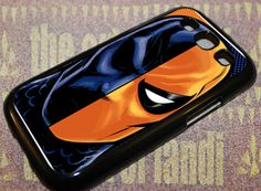 Deathstroke For Samsung Galaxy S3 Black Rubber Case