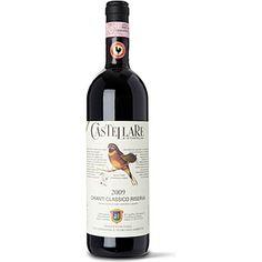CASTELLARE Chianti Classico Reserva 2009 750ml  wine / vino Italy