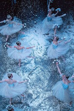 And, something magical...New York City Ballet's 'The Nutcracker', photo by Katie Friedman, via ELLE.