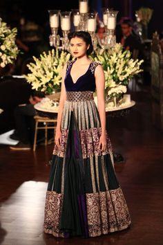 Manish Malhotra Collection 2013 | Vogue Wedding Show 2014