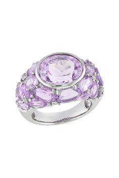 Sterling Sliver Amethyst Ring