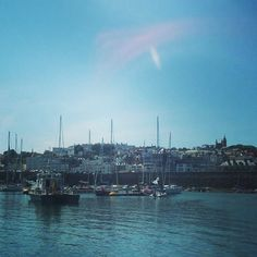 Guernsey harbour ⛵️