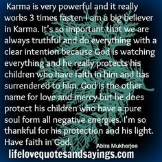 karma quotes and pic | Karma Is Very Powerful.. | Love Quotes And Sayings