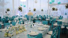 boda en color azul turquesa