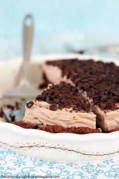 Heavenly Chocolate Pie