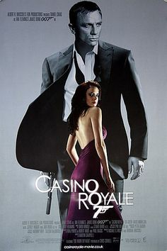 Buy online, view images and see past prices for JAMES BOND: CASINO ROYALE LOT x 3 - 3 x U. / International One Sheet movie posters (Double Sided) - Advance 'Vesper' style teaser, Advance 'Solange' style teaser & Final Design featuring Daniel Craig - James Bond Movie Posters, James Bond Movies, Original Movie Posters, James Movie, Love Movie, I Movie, Image Internet, Casino Royale Movie, Eva Green Casino Royale