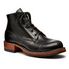 white's boots black cap toe