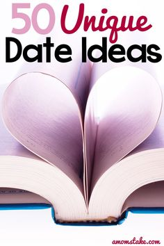 50 Unique {and cheap} Date Night ideas great for Valentine's Day or any other day of the year cheap entertainment, cheap dates, save money eating out