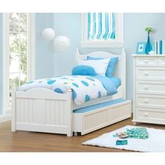 Storage 101 Twin Trundle Bed