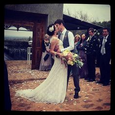 Carol-Anne & Andre Sonnekus - beautiful EcoBride & groom! #EcoBride Custom Wedding Dress, Wedding Dresses, Bridal Tips, Vintage Lace, Bridal Style, Bespoke, Bridal Gowns, Groom, Bride