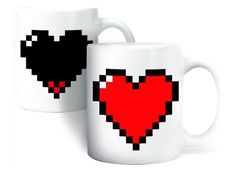 Oh man, my inner geek is leveling up so badly! Anyone who played old school TV games will know exactly what I'm talking about. These mugs are too awesome. Zelda anyone? Only $8!