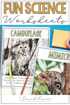 Disorganized and stressed out? Don't spend time planning your elementary science curriculum when you can easily teach your students about animal adaptations with these fun worksheets and activities. Science Curriculum, Science Activities, Life Science, Vocabulary Word Walls, Vocabulary Cards, Animal Adaptations, First Grade Science, Fun Worksheets, Parts Of A Plant