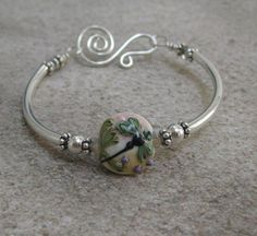 Dragonfly Bangle by ToBeMeJewelry on Etsy, $45.00