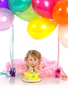 birthday photo idea but on the grass lawn using golf tees to stake the balloons in with. And get her to smile Birthday Pictures, Baby Pictures, Baby Photos, Posing Ideas, 3rd Birthday Parties, Birthday Balloons, Happy Birthday, Birthday Photography, Cute Photos