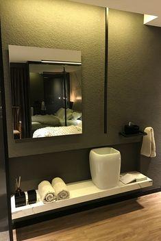 2 Suítes com quarto e banheiro integrados - super modernas! - DecorSalteado