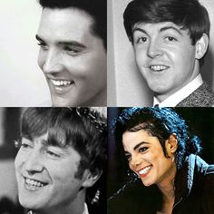 My favorite male musicians of all time💕