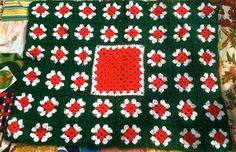Festive Baby Afghan by lishyloo on Etsy, $15.00
