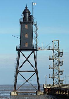 Leuchtturm Obereversand, Dorum-Neufeld, Germany
