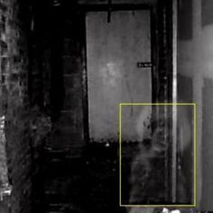June Houston's apatment building's basement in New York  - a little girl's spirit seems to have been caught manifesting here
