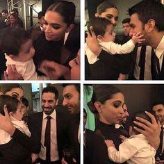 Deepika Padukone and Ranveer Singh clicked with baby her BFF's wedding: