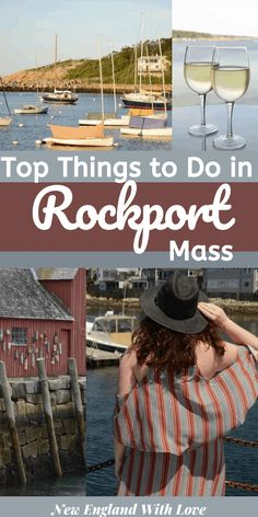 There's so much to explore in Cape Ann. This list of things to do in Rockport MA will keep you busy during your New England vacation. Rockport Maine, Rockport Massachusetts, Gloucester Massachusetts, New England Fall, New England Travel, New York City Travel, Stuff To Do, Things To Do, York Beach