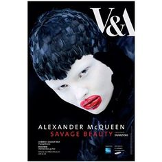 v&a museum poster Exhibition Poster, Museum Exhibition, Beauty Exhibition, Doodle Pictures, Alexander Mcqueen Savage Beauty, Poster Text, Museum Poster, V & A Museum, Free Museums