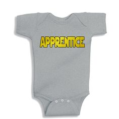 Apprentice Heather Kids Shirt by bodysuitsbynany on Etsy